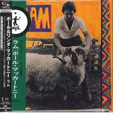 Paul Mccartney   Ram [ Shm  Cd ] Mini Lp   Japonês